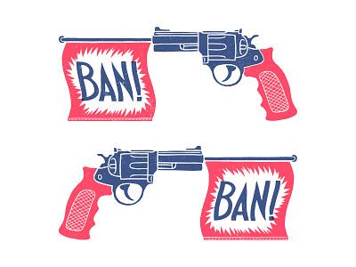 Ban Ban design illustration handdrawn