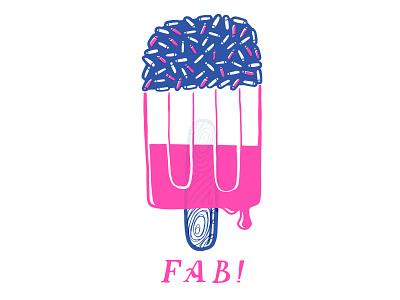 Fab! design illustration handdrawn