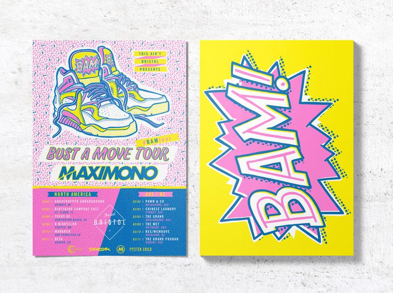 Maxi Mono - Bust A Move EP + tour