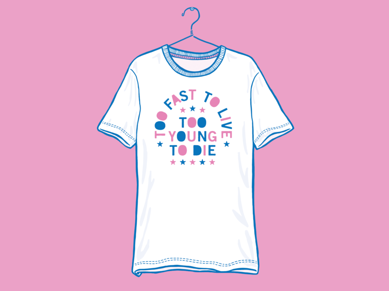 Too Fast / Too Young T-shirt