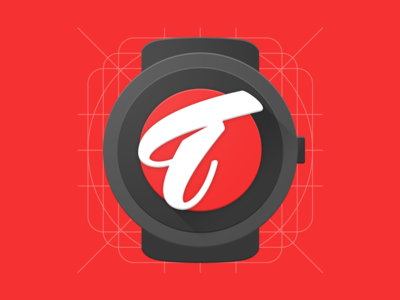 Time Store material design app icon materialdesign android watchface logo material smartwatch watch timestore store time icon