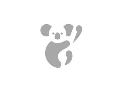 Koala logo challenge alphabet daily logo koala