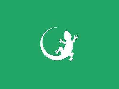 Lizard logo challenge alphabet daily logo lizard