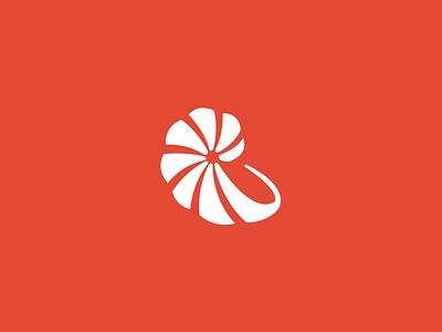 Nautilus logo challenge shellfish shell seashell alphabet daily logo snail nautilus