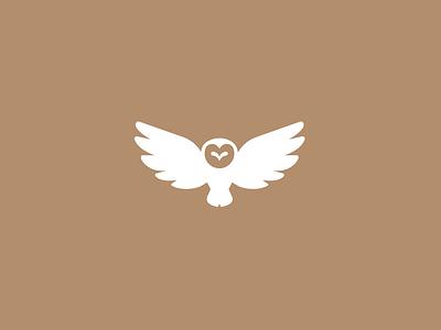 Owl logo challenge alphabet daily logo bird owl