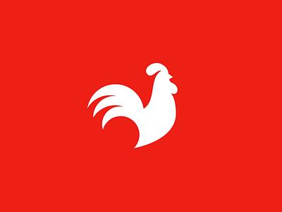 Rooster logo challenge bird hen alphabet daily logo chicken rooster