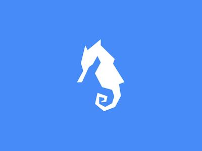Seahorse logo challenge alphabet daily logo sea horse water fish seahorse