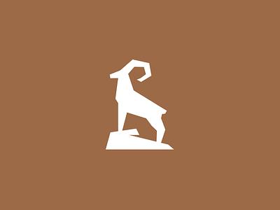 Urial logo challenge alphabet daily logo rock ram goat sheep urial