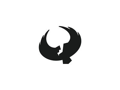 Vulture logo challenge alphabet daily logo bird vulture