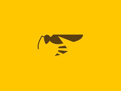 Wasp logo alphabet daily challenge logo sting honey hive hornet bee wasp