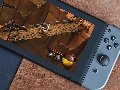 Diablo III fanart nintendo switch 3d fanart 3d model game switch nintendo blizzard diablo