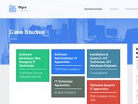 WA Site Rebrand: Case Studies Page