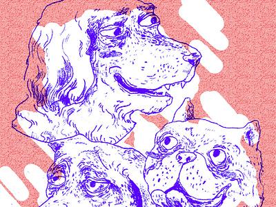 Doglife portrait illustration dog portrait portrait sketchbook dog illustration dog art sketch drawing illustration