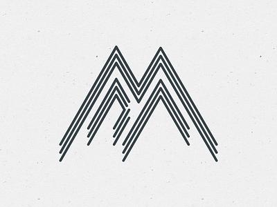 Personal Monogram stroke aa a personal branding logo mark monogram identity