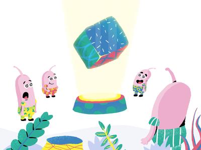 Paste Pixel - Hero Illustration