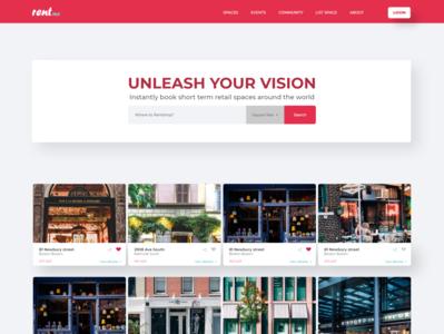 Rent Store Website