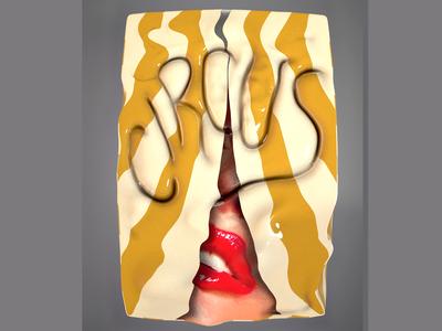 Circus promo 3d design art direction body digital artist typography illustration art digital 3d art digital art render 3d