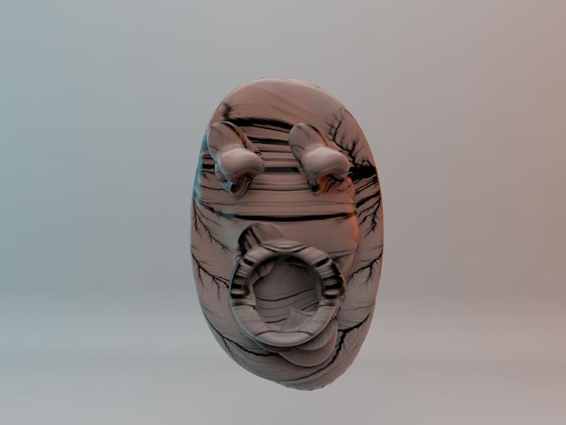 Masked masks vr concept 3d 3d art art digital face mask avatar