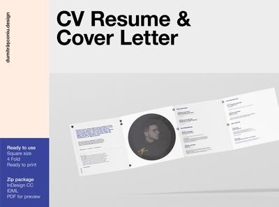CV Resume / Cover Letter