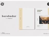Canva Travel Magazine   Borobudur