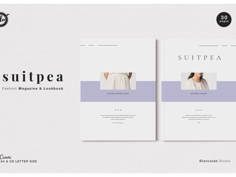 Canva Fashion Magazine | Suitpea