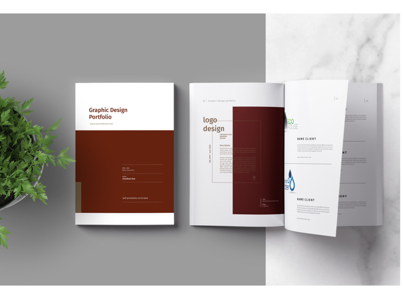 Graphic Design Portfolio Template By Brochure Design On Dribbble,Hire Interior Designer Student