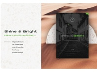 Shine&Bright Urban Fashion Magazine shop free download magazine ad fashion urban shine catalogue clean business elegant portfolio modern magazine branding brochure template
