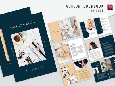 Guide Fashion Blog Magazine free download fashion app magazine ad blog fashion guide lookbook indesign catalogue clean business elegant portfolio modern magazine branding brochure template