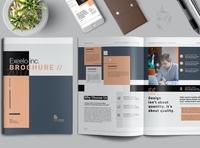 Brochure free download brochure design catalogue clean business elegant portfolio modern magazine branding brochure template