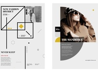 Fashion LookBook & Branding Kit free download branding design fashion brand lookbook fashion catalogue clean business elegant portfolio modern magazine branding brochure template