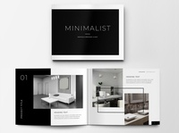 Minimalist Portfolio Brochure Layout brochure design free download minimalist logo minimalist lookbook indesign catalogue clean business elegant portfolio modern magazine branding brochure template