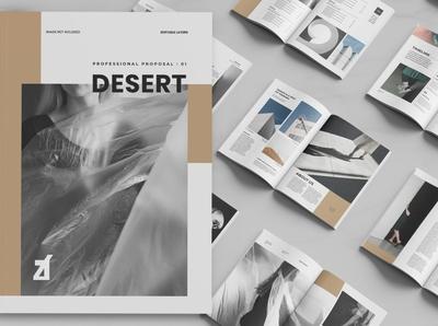 Desert multi-purpose book desert download book purpose editorial lookbook indesign catalogue clean business elegant portfolio modern magazine branding brochure template