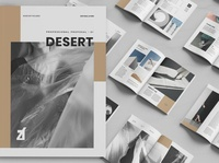 Desert multi-purpose book desert download book purpose editorial lookbook indesign catalogue clean business elegant portfolio modern magazine branding brochure template