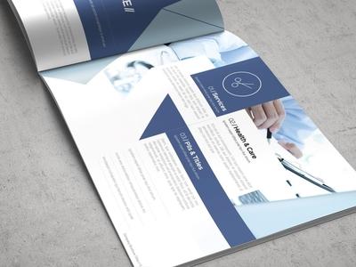 Health & Care Brochure Template healthcare health free download brochure template brochure design catalogue clean business elegant portfolio modern magazine branding brochure template