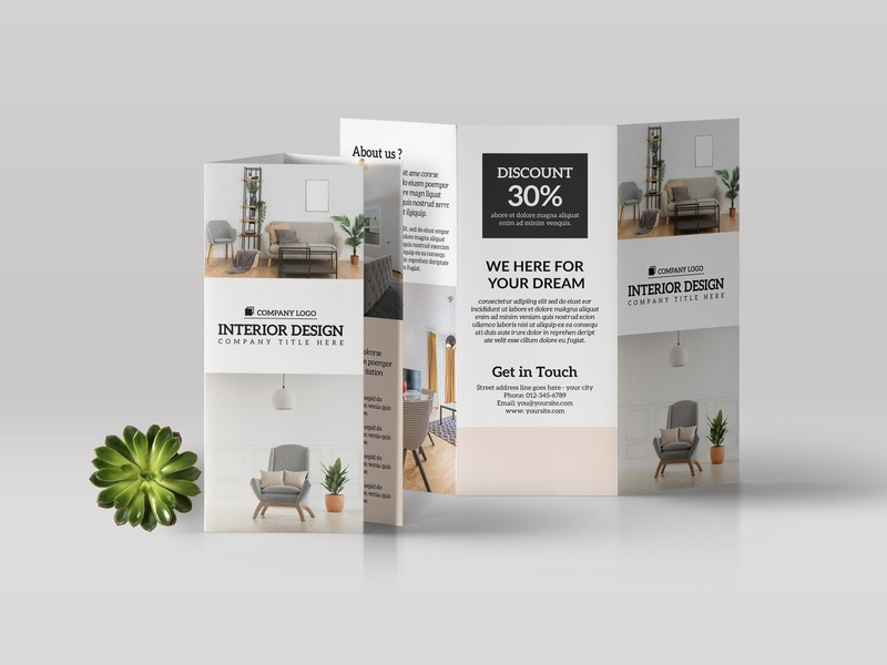 Interior Design Brochure Template interior design free download brochure design design interior catalogue clean business elegant portfolio modern magazine branding brochure template