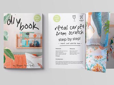 32 Pages DIY CookBook Magazine free download magazine cover magazine ad cookbook diy catalogue clean business elegant portfolio modern magazine branding brochure template