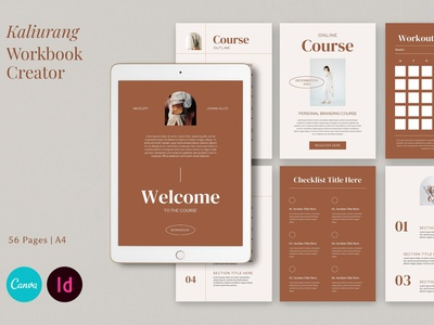 Kaliurang - Workbook Creator download creative design workbook catalogue clean business elegant portfolio modern magazine branding brochure template