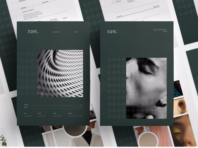 Raw Pitch Pack pitch free download pack catalogue clean business elegant portfolio modern magazine branding brochure template