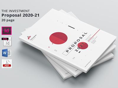 Investment Proposal free download investment proposal catalogue clean business elegant modern magazine branding brochure template portfolio
