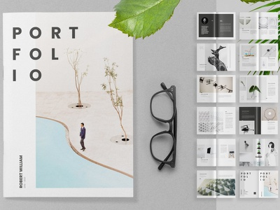Portfolio Template portfolio design free download templates portfolio site lookbook indesign catalogue clean business elegant portfolio modern magazine branding brochure template