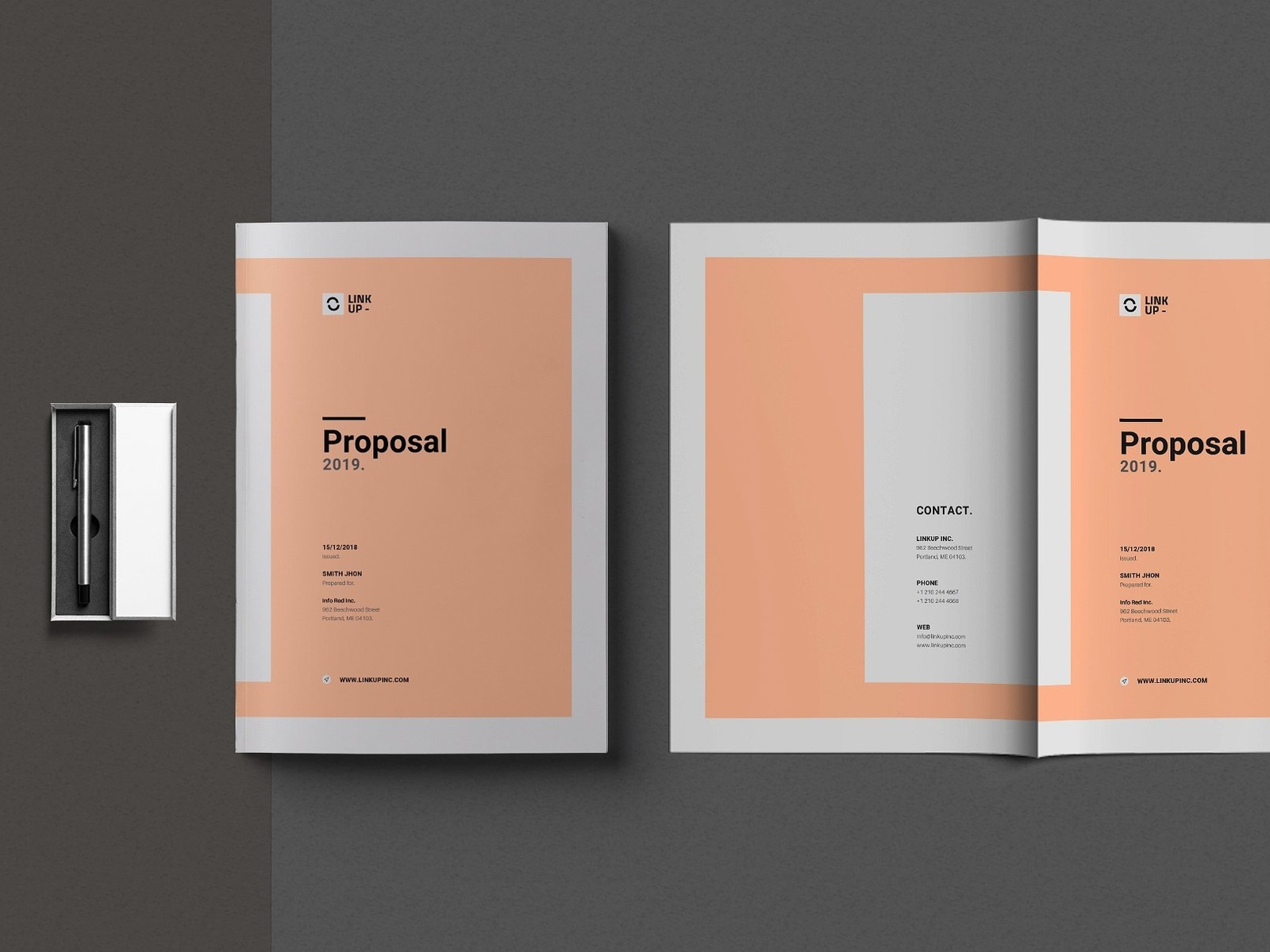 Business proposal template by brochure design dribbble httpscreativemarketdesign park2908747 business proposal template uaurom cheaphphosting Images