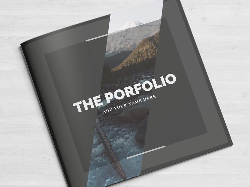 Multipurpose Porfolio Template studio lookbook editorial catalogue indesign elegant business modern magazine portfolio branding template brochure