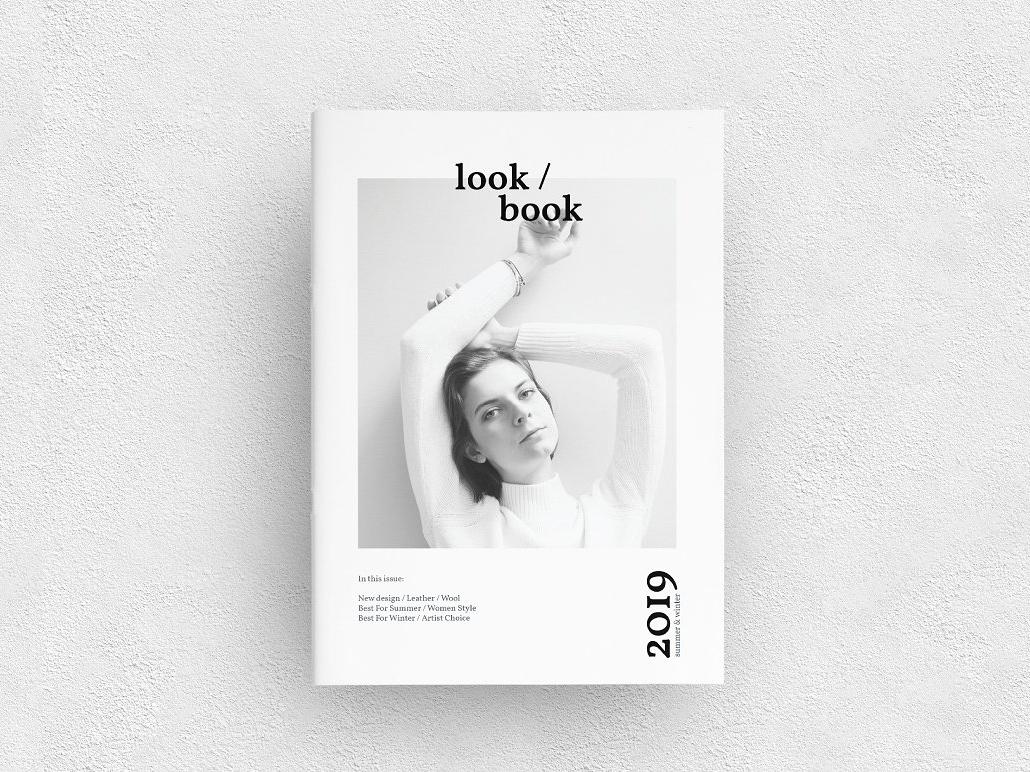 lookbook by brochure design dribbble dribbble