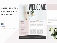 Home Rental Welcome Kit – Word Doc