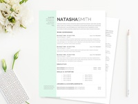 Pastel Dreams Resume Template