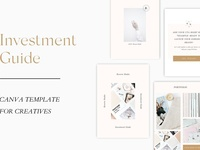 NEW! Investment Guide CANVA template