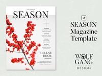 SEASON Magazine Template