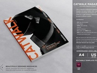 Catwalk Magazine Template