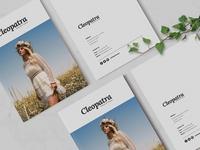 Cleopatra | Brochure Template