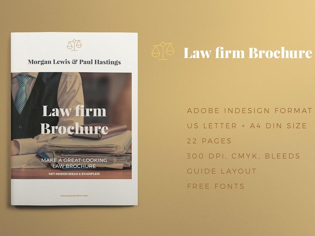 Law Firm Brochure By Brochure Design Dribbble Dribbble